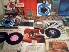 1967 : (Retro King) Tags: 1967 retro records beatles vinyl decca swinging sixties singles parlophone lps albums comicbooks magazines newspapers british 45rpm