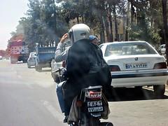 IMG_5609 Iran (farfalleetrincee) Tags: road travel cars tourism panda iran persia adventure guide streetview qom