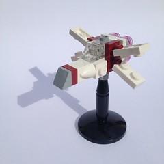 Mini Rebel X-Wing (FxanderW) Tags: lego starwars rogueone r1 moc custom micro mini scale rebel starfighter xwing roguesquadron