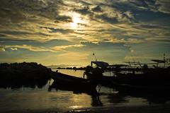 TALING NGAM     Koh Samui, Thailand (ernesto teruya) Tags: sunset kohsamui thailand boat fishingboat