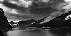 Flam Norway (Alan Headland) Tags: flam norway fjord sea ship cruiser