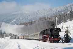 BR44 546 - KLAIS (Giovanni Grasso 71) Tags: br44 db mittenwald bahn locomotiva vapore neve inverno nikon d610 giovanni grasso treno storico alberi