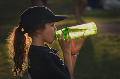 Stay Hydrated 207/366 (Watermarq Design) Tags: goldenhour water sunlight evening project366 softball summer summertime summerfun summernights