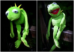 I cheered up Kermit (* RICHARD M (Over 5 million views)) Tags: kermit kermitthefrog muppet puppet toys cuddlytoys smile fun lol humour collage sad sadness forlorn alone happy happiness cheeredup themuppetshow sesamestreet dolls heskethpark southport sefton merseyside omg wtf lipstick street portraits portraiture streetportraits streetportraiture celebrity celebrities showbiz characters frog frogs