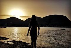 Mondello (Taissa Tai) Tags: mondello sicilia italia beach praia sunset tramonto