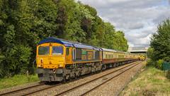 66754 Bamber Bridge (mike.online) Tags: class66 gbrf bluebird shed 66760 66759 bamberbridge ukrail ukrailways train locomotive heavyhaul