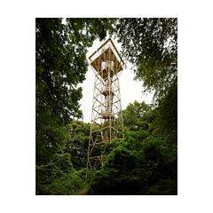Tour de Drince (Franois Lichtl) Tags: tour tower drince rombas lorraine france civilengineering acier steel lattice vgtation arbres trees fort forest observation