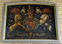 Olney, Buckinghamshire (Sheepdog Rex) Tags: royalarms churchofstpeterandstpaul olney