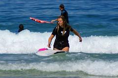 Discouraged (Curufinwe - David B.) Tags: beach sea mer mimizan landes aquitaine france sony a77 a77v sonyalpha77 sonydslta77v 400mm sigma plage waves wave surf surfing wetsuit girl girls woman feminine surfer surfgirl surfergirl surfcamp