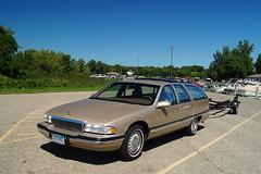 Buick Roadmaster Limited Estate Wagon (DVS1mn) Tags: lake minnewaska classics cars car carshow automobile auto automobiles automotive buick roadmaster limited estate wagon
