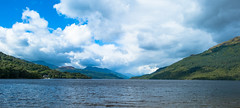 2016_221 (Chilanga Cement) Tags: scotland firkinpoint lochlomand colour color water loch clouds cloud blue coast coastline