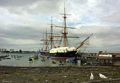 Portsmouth Historic Dockyards,  HMS Warrior (Eleanor (No multiple invites please)) Tags: portsmouth historicdockyards hmswarrior seagulls phoneshot august2016