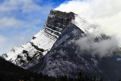 Banff, Mount Rundle, September 11 2016 (Velates) Tags: banffnationalpark edit mount rundle