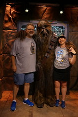 """Tracey, Scott and Chewbacca • <a style=""""font-size:0.8em;"""" href=""""http://www.flickr.com/photos/28558260@N04/29225081995/"""" target=""""_blank"""">View on Flickr</a>"""