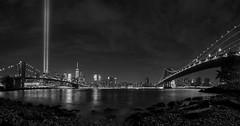 New York_20160910_061 pano (falconn67) Tags: newyork newyorkcity manhattan brooklyn brooklynbridge skyline worldtradecenter wtc eastriver river night canon 5dmarkiii 24105l longexposure travel