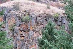 Rock Face on Idaho mountainside 120821-113007 mcd C4 (Wambeke & Wambeke Photography, Art, & Textiles) Tags: rockwallonsideofmountain idaho idahomountainside rockface facesinplaces rockformationthatlookslikeaface melodydosswambekephotography canona110 wambekeandwambekephoto wambekewambekephotographyarttextiles
