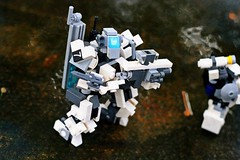 """Viktor-Sieben, come in..."" (ABS Defence Systems) Tags: outdoors zero lego mecha mf0 mobile frame"