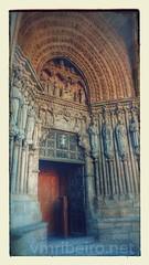 Portal da catedral de Tui (vmribeiro.net) Tags: espanha cathedral catedral portal tui