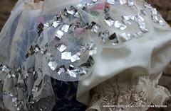 Traje de fallera valenciana con material reciclado (423) (Reciclado Creativo - The Reuse Factory) Tags: coffee caf valencia de monumento plastic bags creatividad capsules fallas fallera botellas reciclado cpsulas upcycling capsulas botellasdeplstico fallas2015 ecofallera