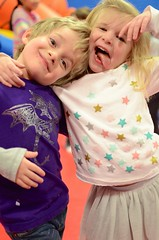 Everett & Maddie Hamming It Up For The Camera (Joe Shlabotnik) Tags: madeleine everett faved 2015 afsdxnikkor35mmf18g zeroviewsonefave february2015