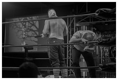 WHY DASHER WHY (riveraXVX) Tags: monkey nc kevin wrestling professional pro hatfield bryce lucha libre wrench wwe chikara dasher roh pwg throwbacks cwf gibsonville condron remsberg
