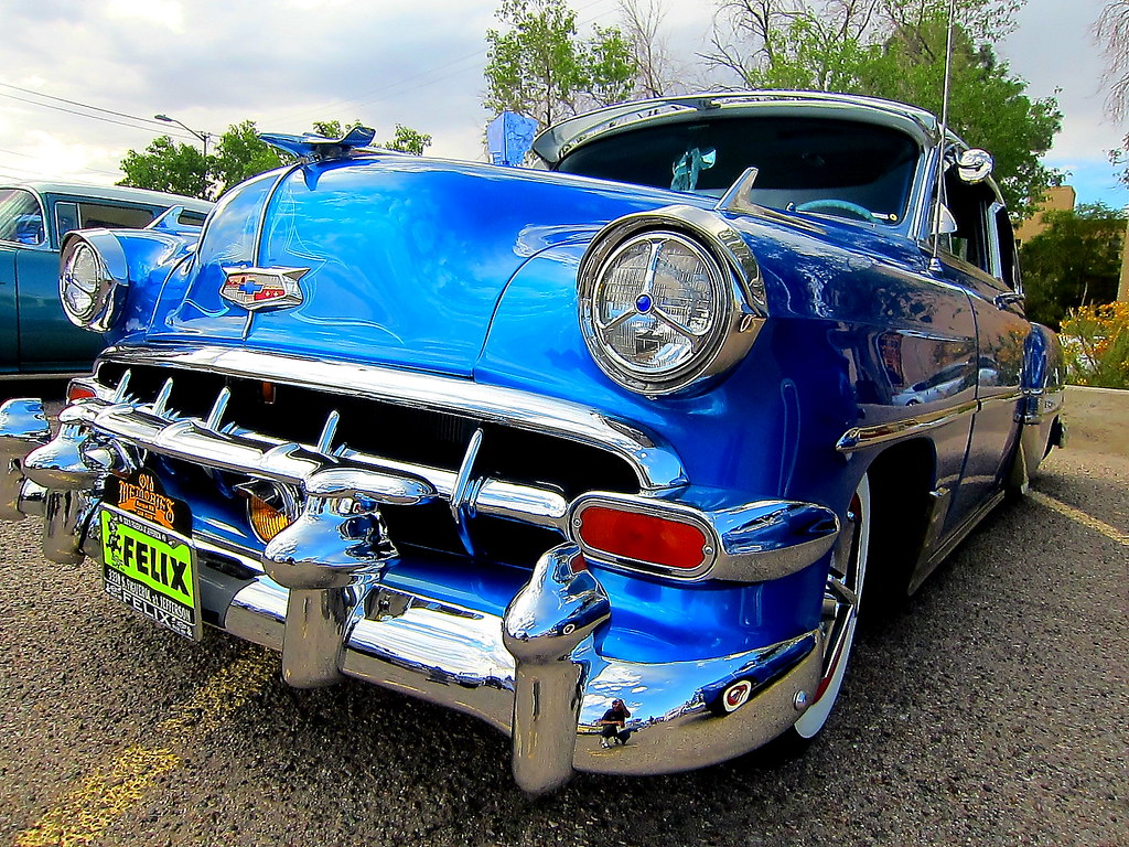 The Worlds Best Photos Of Chevrolet And Felix Flickr Hive Mind 1954 Chevy Impala Lowrider El Cheech Tags Classic Belair Whitewalls Classiccar Gm Deluxe
