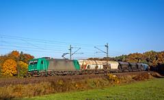 185 607 (maurizio messa) Tags: railroad germany bayern railway trains bahn mau germania bombardier freighttrain ferrovia traxx treni lte br185 guterzuge alphatrains nikond7100