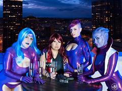 DSC_0638 (N8Zim) Tags: cosplay seatte asari masseffect azures afterlifeclub eccc2015