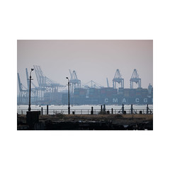 southampton-docks (Steve Thearle) Tags: sea docks industrial cranes southampton