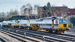 Leicester, 30th March 2015 (simage61) Tags: leicestershire leicester railway transportation mainline tampingmachine volkerrail dr75405 englandcentral
