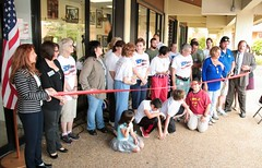 """FSO Thrift Store Ribbon Cutting • <a style=""""font-size:0.8em;"""" href=""""https://www.flickr.com/photos/58294716@N02/16847414138/"""" target=""""_blank"""">View on Flickr</a>"""