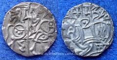Ghaznavid Empire silver drachm (Numismatic Coins & History) Tags: silver coin asia plata moneda 1030 1040 mnze ghazni jital drachm ghaznavid masudi amirishahid