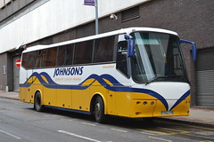 Johnsons YD02PXB (Will Swain) Tags: city uk england march coach birmingham britain centre johnsons coaches midland brum midlands 26th 2015 yd02pxb