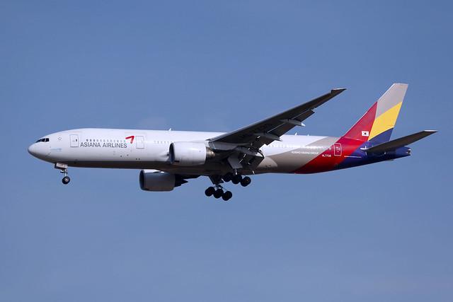 HL7739 | ASIANA AIRLINES | Boeing 777-28E(ER) | ICN