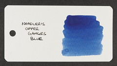 Noodler's Upper Ganges Blue - Word Card
