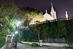 Igreja Da Penha (kewl) Tags: china church night macau  soloureno  enfuse  praiadomanduco  ruadocomendadorkouhneng