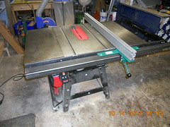 Hank Kennedy table saw project - diy guide rails 20