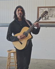 Jesse Christian Hendricks, Spanish Guitar, (David McSpadden) Tags: winetasting passport eldoradocounty spanishguitar jessechristianhendricks