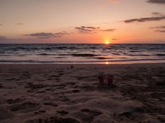 sunset @ hapuna beach