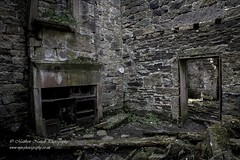 The Forgotten Farmhouse - Blackened Remains (Matthew Nuttall Photography) Tags: old architecture farmhouse ruins decay yorkshire calderdale