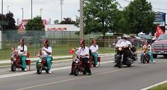Eze Riders (Hear and Their) Tags: ontario festival honda fun parade fez eze essex shriners riders minibikes z50