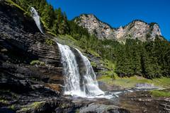 Cascade du Rouget - Sixt Fer  Cheval - 02 (glassonlaurent) Tags: france montagne cheval eau  du savoie paysage cascade fer haute rouget sixt