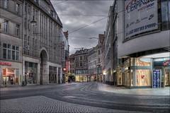 Groe Ulrichstrae (p h o t o . w o r l d s) Tags: groseulrichstrase kleinschmieden sachsenanhalt deutschland hallesaale abendlicht eveninglight hdr photomatix tonemapping fujixt10 photoworlds