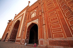Taj Mahal 177 (David OMalley) Tags: world india heritage river site tomb taj mahal agra unesco mausoleum shah pradesh uttar jahan mughal mumtaz yamuna