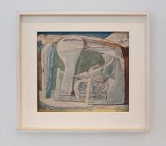Glacier (Bone), Wilhelmina Barns-Graham 1950 (jonnydredge) Tags: bowie davidbowie sothebys bowiecollector art nikon london moderneccentrics exhibitions jonathandredge barnsgraham