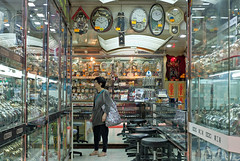 """""""lost in time"""" (hugo poon - one day in my life) Tags: xpro2 35mm hongkong northpoint kingsroad watch shop yesteryear vanishing"""