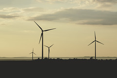 IMG_9265 (L) Tags: sunset windturbine sky clouds lake sweden stergtland canon eos5dmkiii 7020028lisii