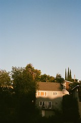 07290022 (soleilhyland) Tags: california trees light sky color home 35mm landscapes losangeles lomography shadows outdoor filmisnotdead