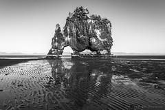 Hvtserkur the giant (E PHOTO (www.oe-photo.com)) Tags: ephoto rnerlendsson iceland bw monochrome blackandwhite nature troll monolith d600 flickrsbest