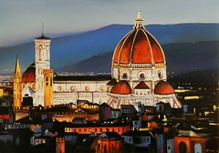 Florence Duomo (davidesigi) Tags: florence art italianart fineart contemporaryart abstract oilpaintings museum famous painters artlovers city landscapes portrait drawing beautiful impressionism postimpressionism italy tuscany artstudio florenceduomo kunst brunelleschi fiesole lights night modernart artiststudio giotto toscana firenze davidesigill followme